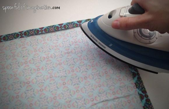 ironing flannel
