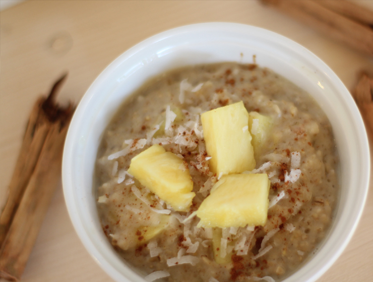 pineapple oatmeal