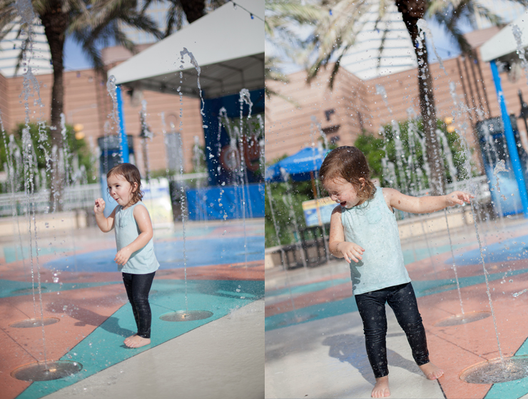 Houston Downtown Aquarium Splash pad