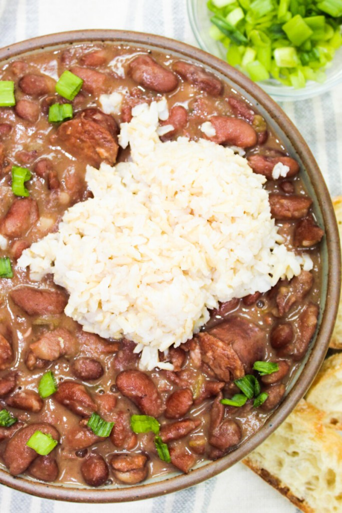 Red Beans And Rice Ly Yours Spoonful Of Nola