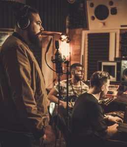 Sesja nagraniowa w studiu Spoon Production