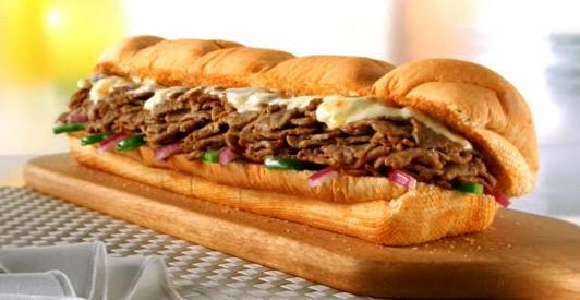subway steak and cheese