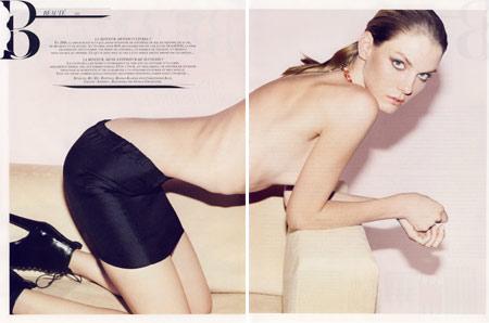 Image result for vogue france skinny model