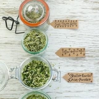 Fragrant Dried Herb Salts