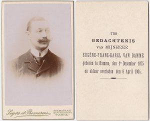 Eugene Franz Karel Van Damme 1875-1904