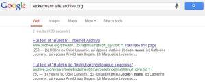Google: 2 identieke hits