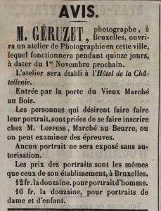 Ieper 1862 Geruzet - Le Propagateur (1818-1871) 25 oktober 1862 pagina 4 (4-4)