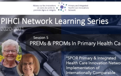 PIHCI Network Learning Series 5 – PREMs & PROMs In Primary Health Care
