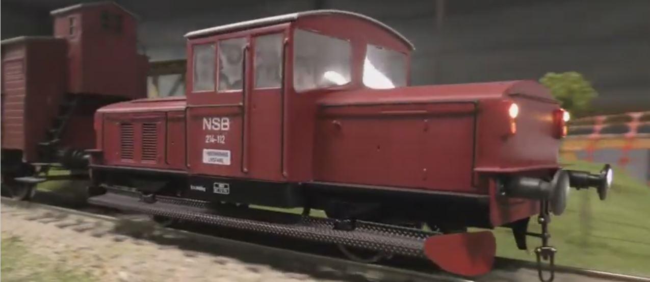Video fra sommerkøredagen på Næs Jernverksmuseum