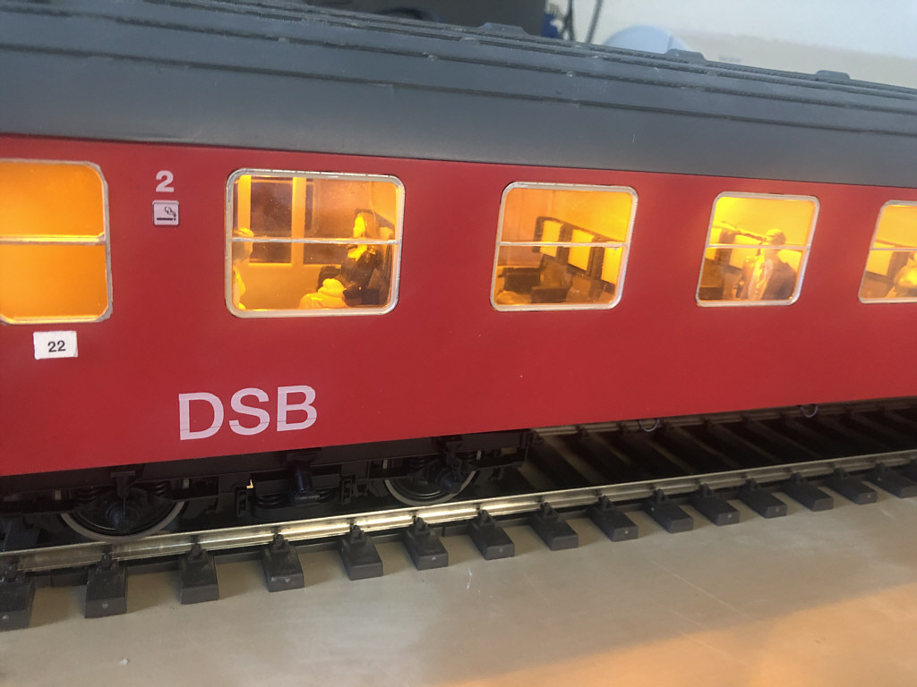 DSB litra B personvogn