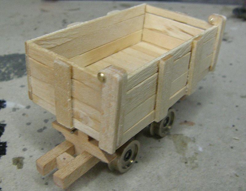 Smalsporet kassetipvogn