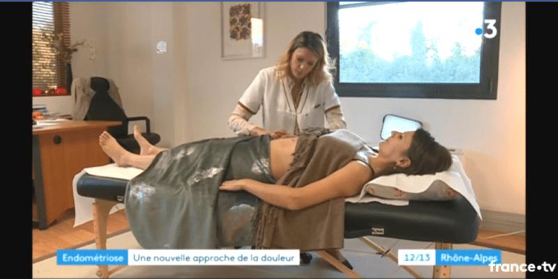 Reportage Endomaitrise France 3 Clinique du Val d'Ouest Sporactio Lyon