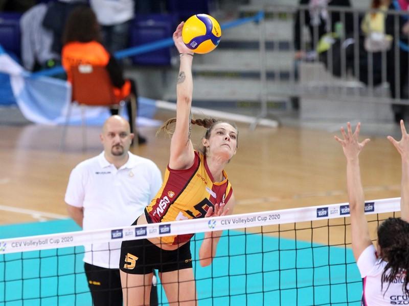 Kadınlar voleybol CEV Kupası sezonunda tek temsilcimiz Galatasaray takımı. Bu hafta son 16 turunda 2. maçına çıkacak olan Galatasaray ve diğer tüm detaylar