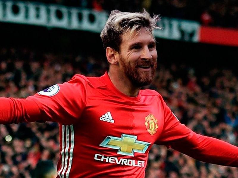 Lionel Messi Manchester United