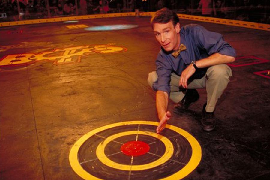 """Bill Nye, BattleBots """"Technical Expert"""""""