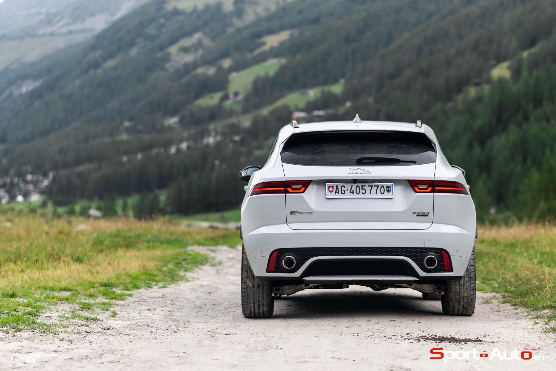 ESSAI JAGUAR E-PACE P250 R-DYNAMIC HSE - Sport-Auto.ch