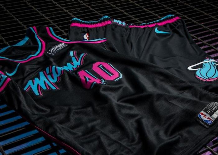 maillot Vice Nights du Miami Heat
