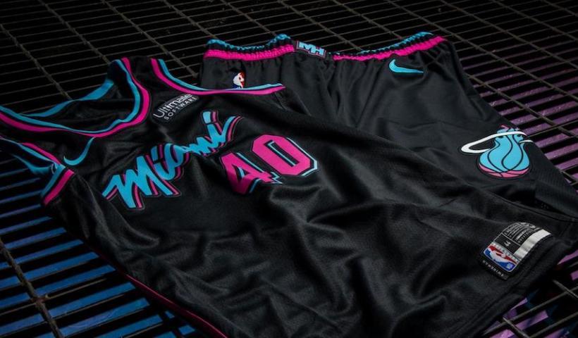maillot Vice Nights du Miami Heat