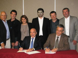 signature-convention-UPE06-club-des-dirigeants-yvon-grosso-gerard-giraudon-jb-wiroth-cedric-messina-marilyn-cabane
