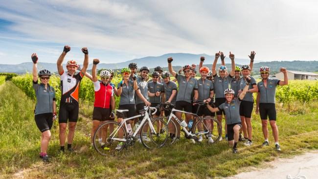 Challenge Vélo Nice Mont ventoux : avant l'ascension du Géant de Provence