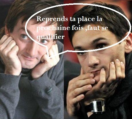 Blagues sur l'équipe de France .On peut tout de même rire un peu .En ce moment elle a tendance à énerver un peu ces supporters , va t-elle se qualifier ?