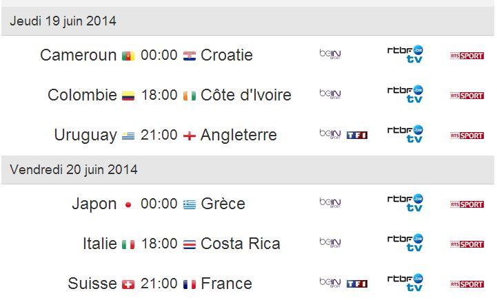 coupe du monde 2014 4