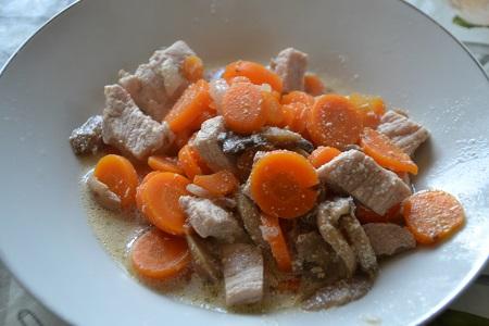 Recette cookeo Minceur : blanquette de porc