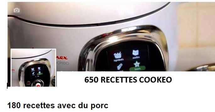 180 RECETTES COOKEO DE PORC