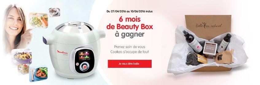 beauty box cookeo