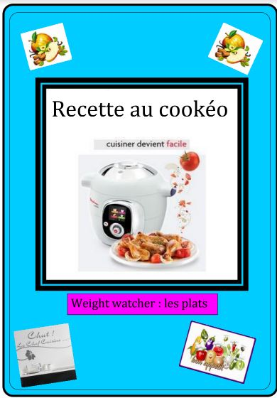 Recettes cookeo weight watchers le PDF