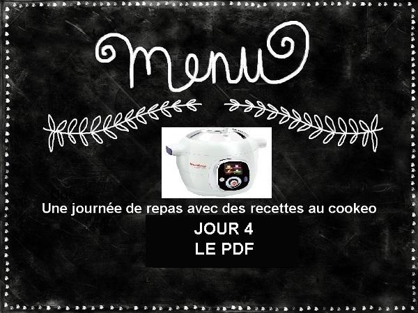 PDF menu cookeo équilibré JOUR 4