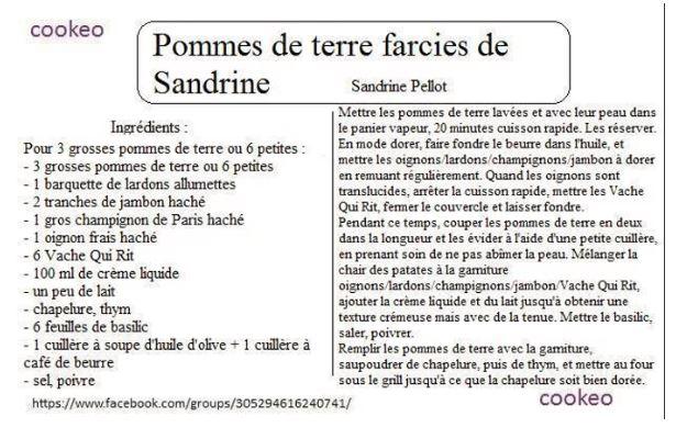 PDT FACIES SANDRINE
