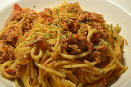 Spaghettis thon weight watchers recette cookeo