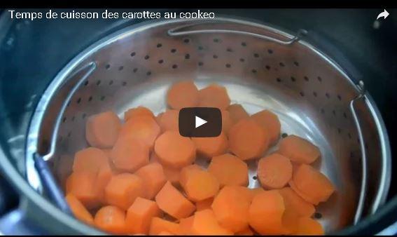Cuisson des carottes au cookeo