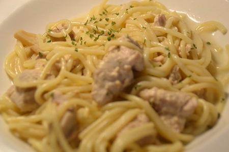 Spaghettis dinde moutarde cookeo