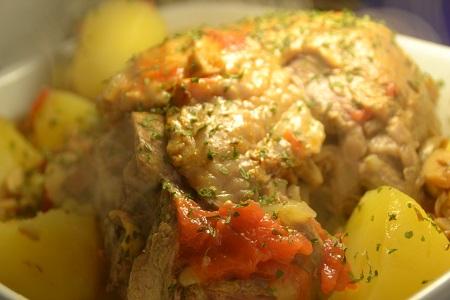 Cuisse dinde pommes de terre recette cookeo