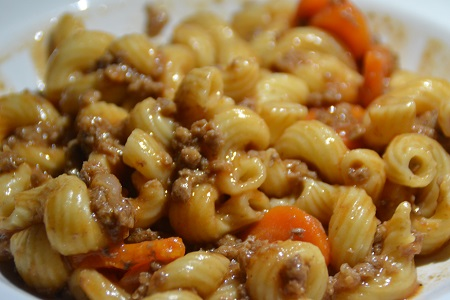 One pot pasta bolognaise cookeo
