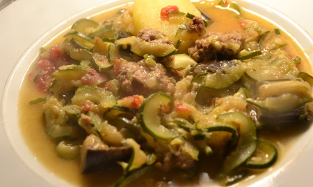 Steaks hachés 3 légumes recette cookeo