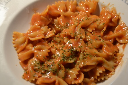 Farfalles tomates recette cookeo