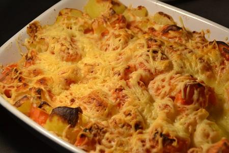 Gratin carottes pommes de terre cookeo