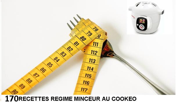 Nouveau PDF gratuit 170 recettes minceur cookeo