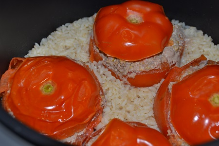 Tomates farcies cookeo style weight watchers