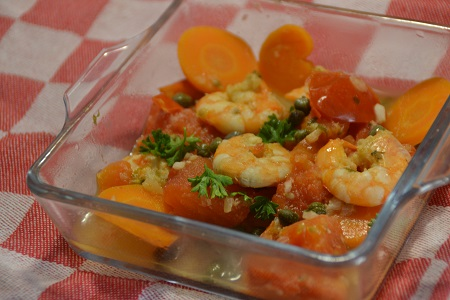 Ragoût crevettes weight watchers cookeo