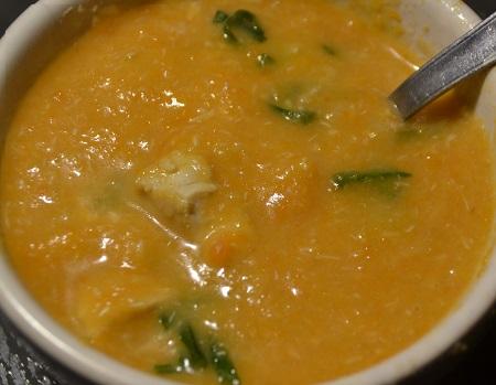 Soupe de carottes poulet recette cookeo