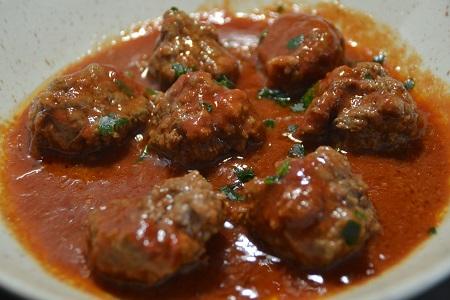 Boulettes steaks hachés tomates recette cookeo