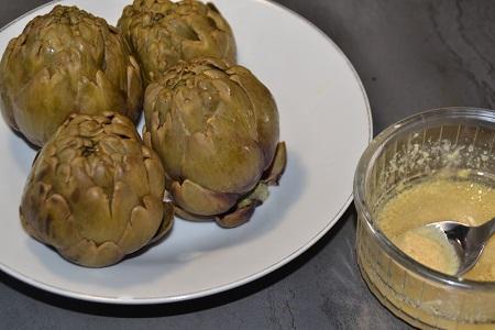Artichauts vinaigrette recette cookeo