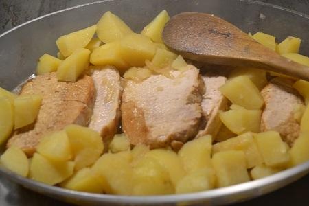 Rôti de porc pommes de terre cookeo