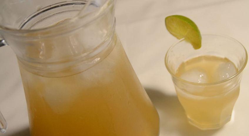 Thé glacé aux 2 citrons préparation cookeo