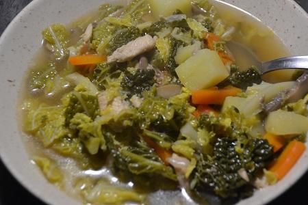 Bouillon de légumes poulet recette cookeo