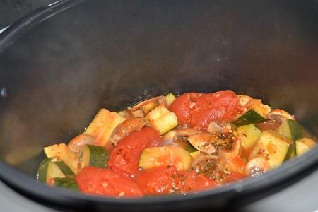Légumes à la provençale cookeo